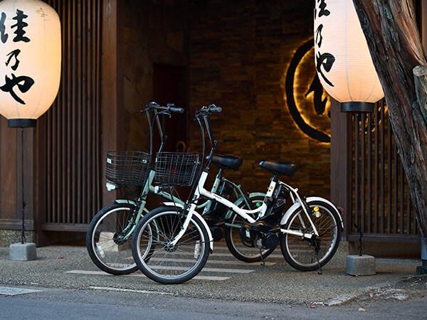 電動アシスト付自転車レンタルサービス