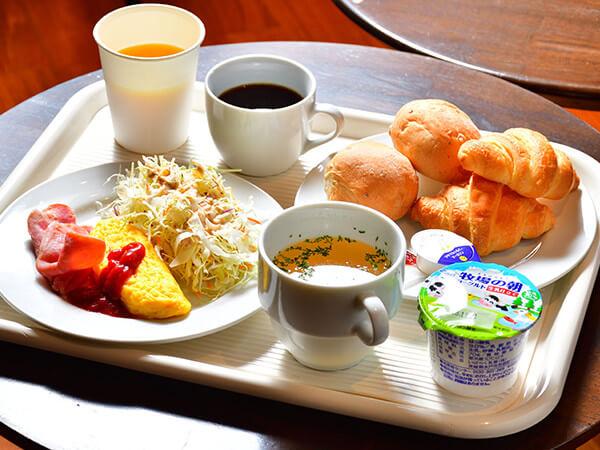 軽朝食のご案内