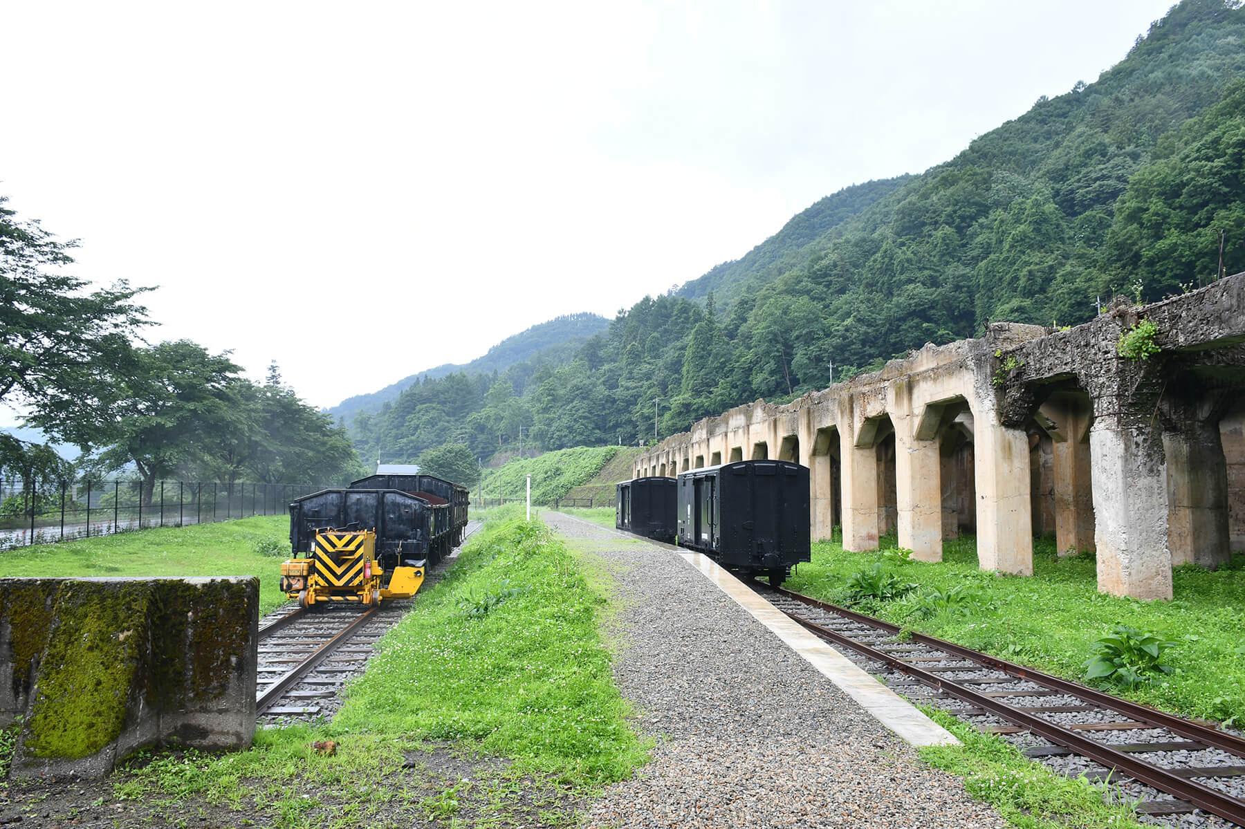 草津温泉から四万温泉へ〈1〉旧太子駅と赤岩集落
